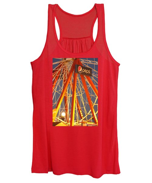 Moon And The Ferris Wheel Women's Tank Top