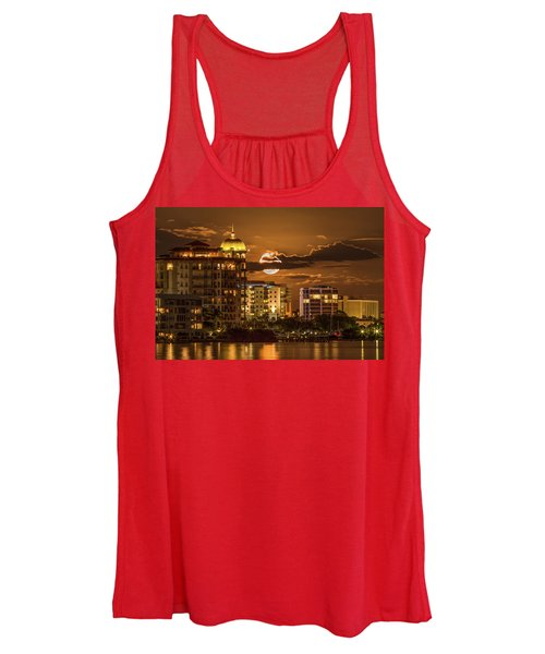 Moonrise Over Sarasota Women's Tank Top