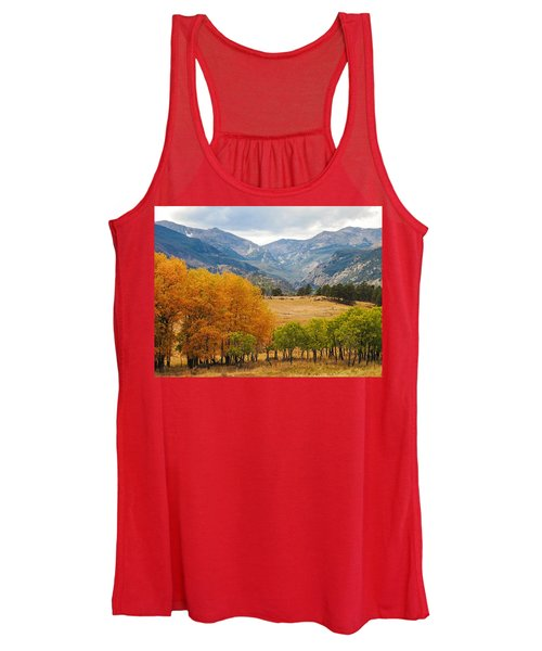 Moraine Park In Rocky Mountain National Park Women's Tank Top