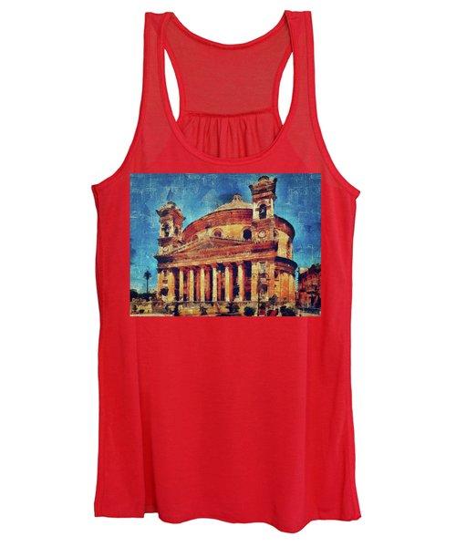 Mosta Church Women's Tank Top