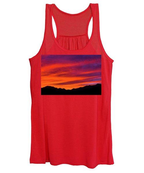 Mount Franklin Purple Sunset Women's Tank Top