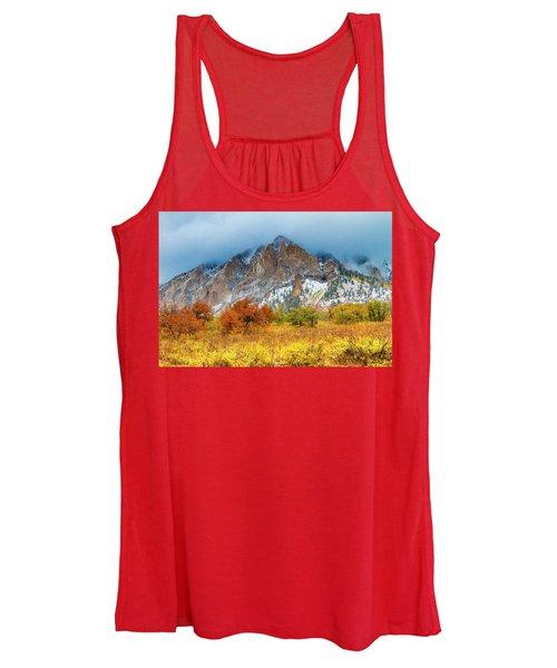 Mountain Autumn Color Women's Tank Top