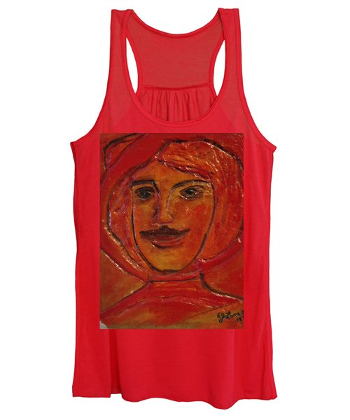Moustached Prince Women's Tank Top