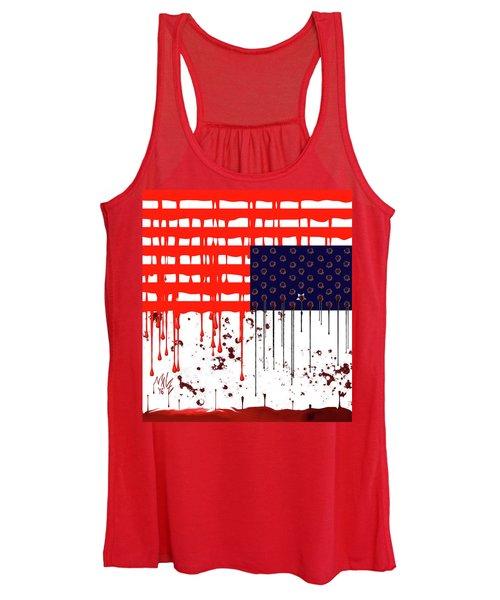 America In Distress Women's Tank Top
