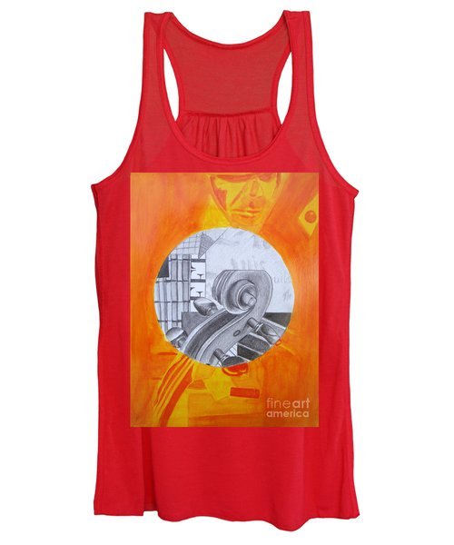 Music 3 Women's Tank Top