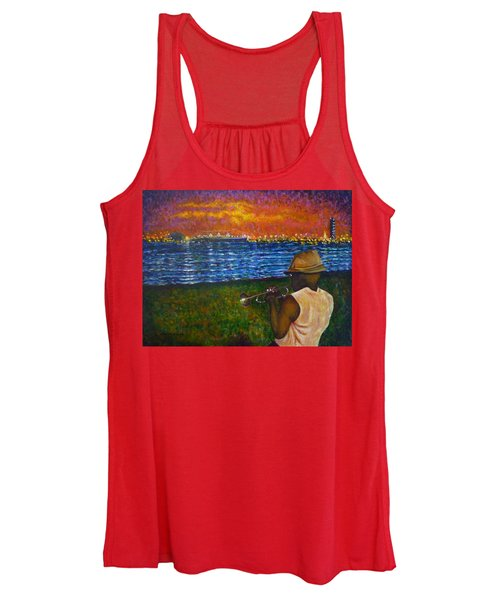 Music Man In The Lbc Women's Tank Top