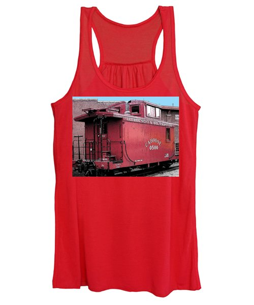 My Little Red Caboose Women's Tank Top