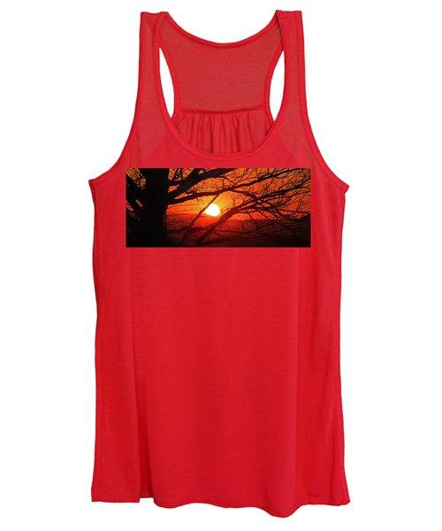 Naked Tree At Sunset, Smith Mountain Lake, Va. Women's Tank Top