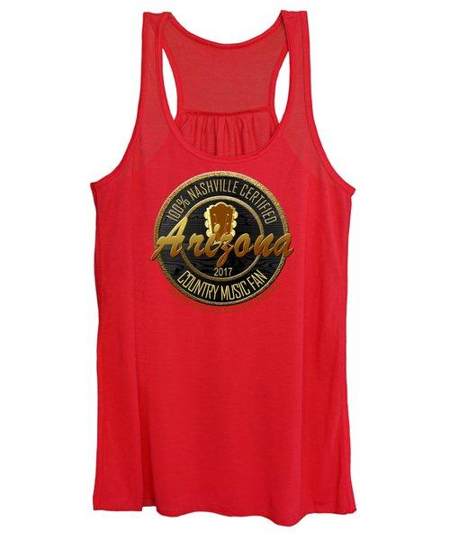 Nashville Certified Arizona Country Music Fan Women's Tank Top