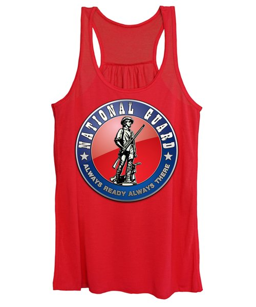 National Guard Of The United States Emblem Women's Tank Top