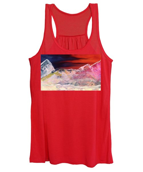 Near Arrow Mountains Women's Tank Top