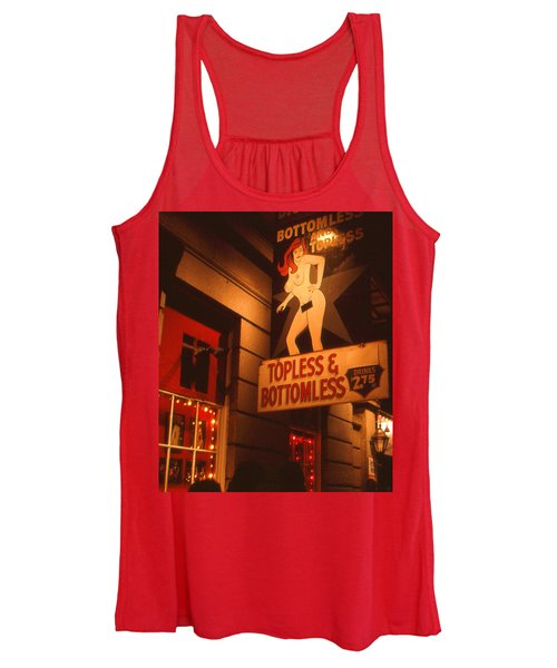 New Orleans Topless Bottomless Sexy Women's Tank Top