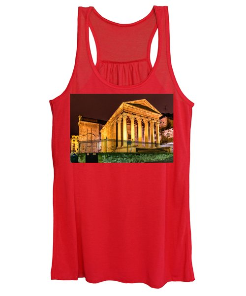 Night At The Roman Temple Women's Tank Top