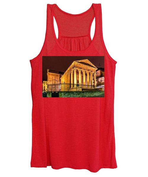 Night At The Roman Temple Women's Tank Top