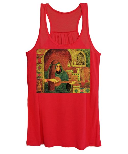 Night Music 3 Women's Tank Top