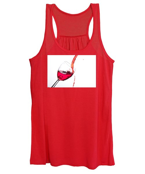 No Wine Was Harmed During The Making Of This Image Women's Tank Top