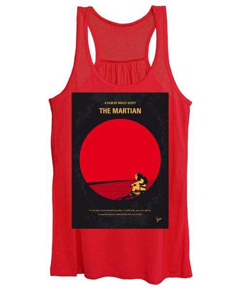 No620 My The Martian Minimal Movie Poster Women's Tank Top