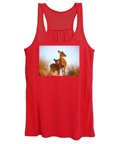 Ocean Deer Women's Tank Top