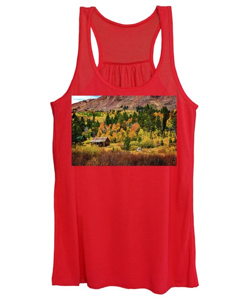 Old Cabin In Hope Valley Women's Tank Top
