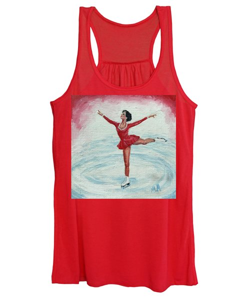 Olympic Figure Skater Women's Tank Top