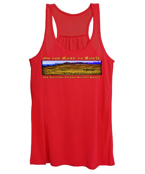 On The Road To Bodie Ghost Town Women's Tank Top
