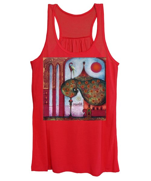 On The Rooftop Of The World Women's Tank Top