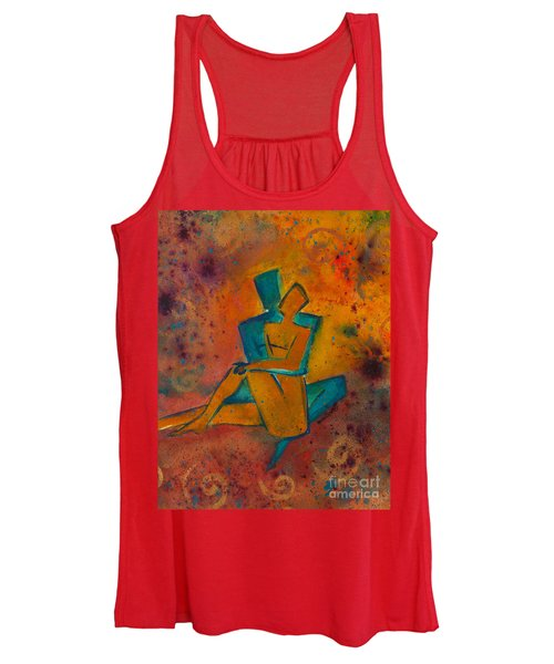 One Soul Divine Love Series No. 1002 Women's Tank Top