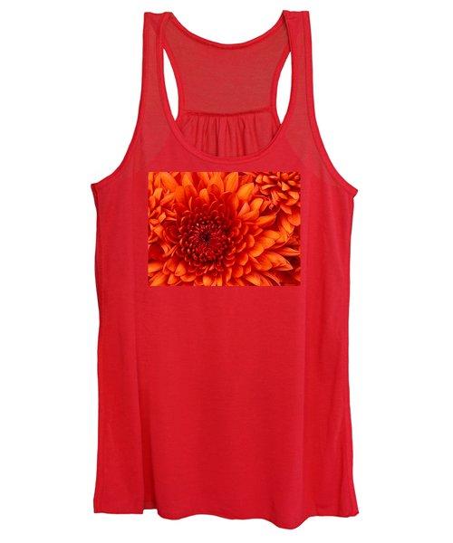 Orange Bloom Women's Tank Top