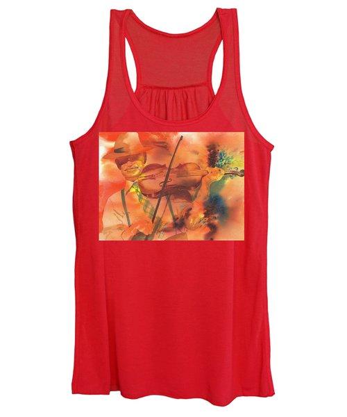 Orange Blossom Special Women's Tank Top