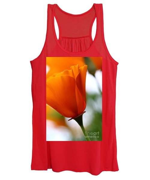 Orange California Poppy . 7d14789 Women's Tank Top