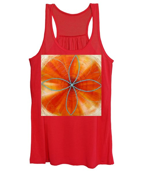 Orange Chakra Women's Tank Top