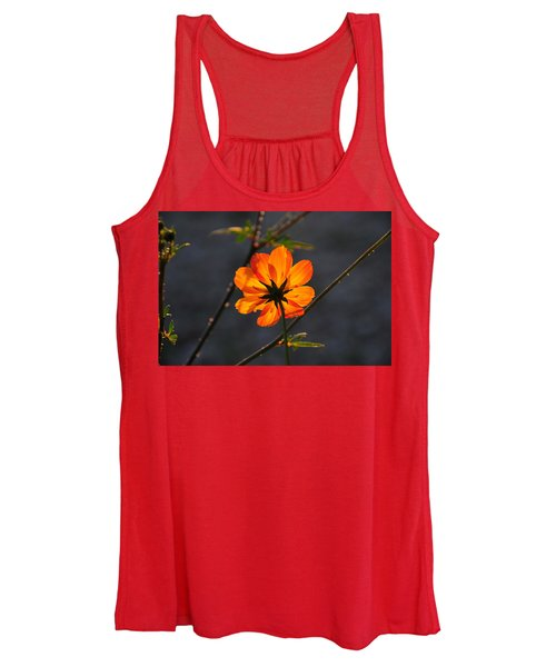 Orange Cosmo Women's Tank Top