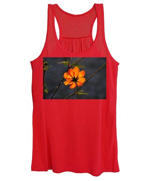 Orange Cosmo Women's Tank Top