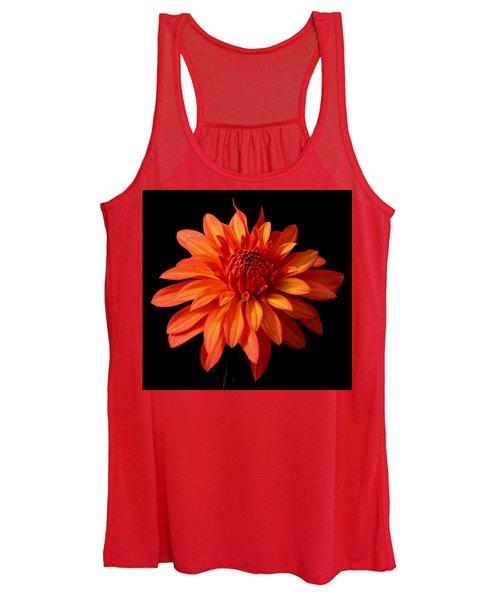 Orange Flame Women's Tank Top