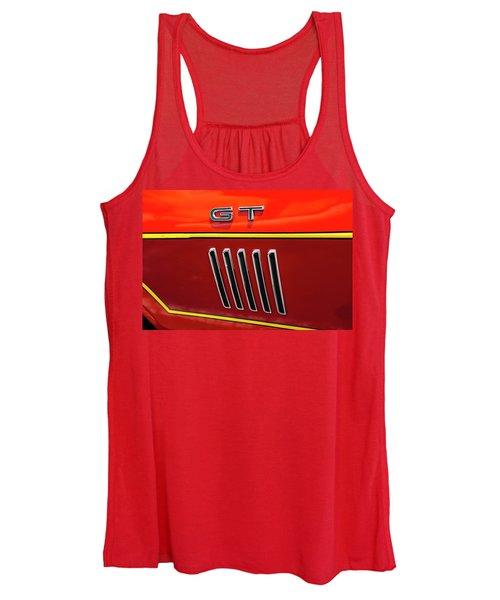 Orange Gt Women's Tank Top