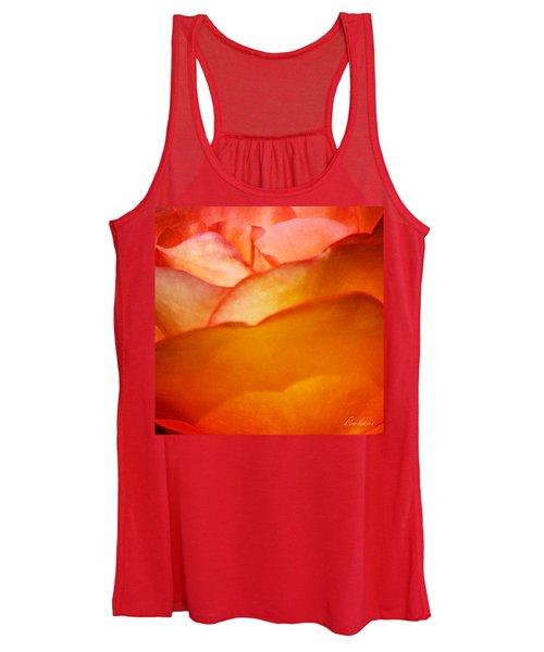 Orange Passion Women's Tank Top