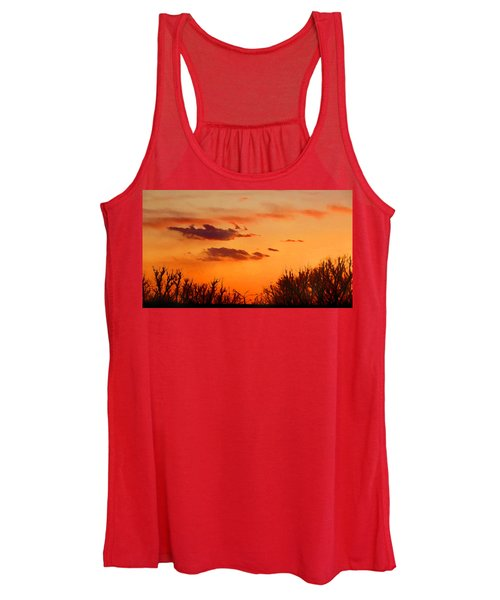 Orange Sky At Night Women's Tank Top