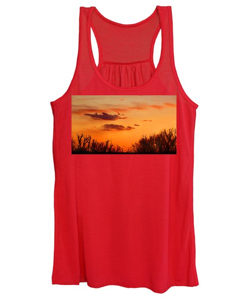 Orange Sky At Night Women's Tank Top