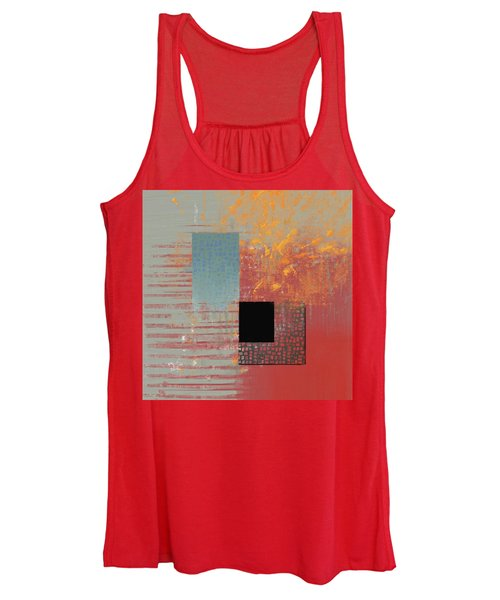 Orange Splash Women's Tank Top
