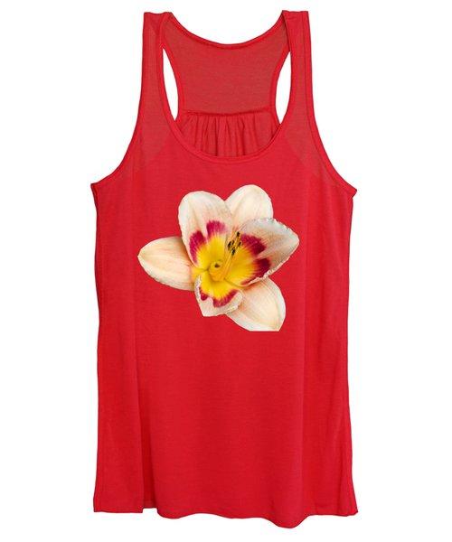 Orange Daylilies Women's Tank Top
