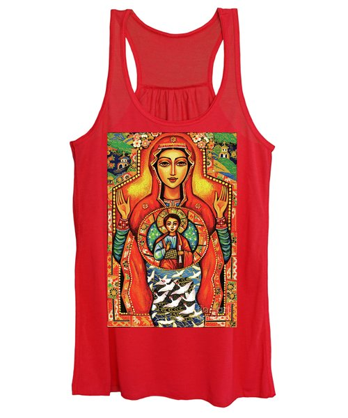 Our Lady Of The Sign Women's Tank Top