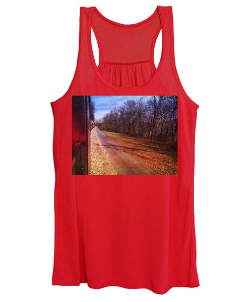 Out The Window Women's Tank Top