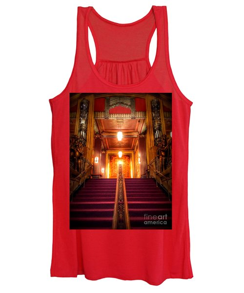 Pantages Theater's Grand Staircase Women's Tank Top