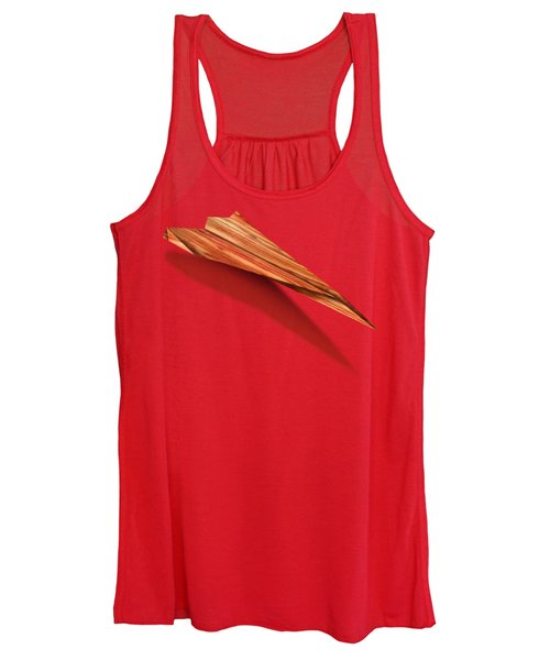 Paper Airplanes Of Wood 4 Women's Tank Top