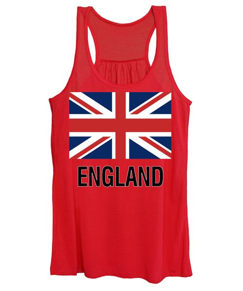 Parchment Flag England Women's Tank Top
