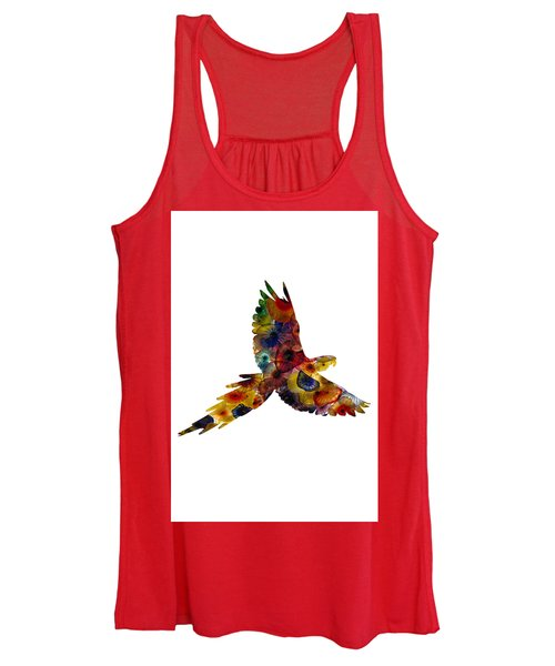 Women's Tank Top featuring the photograph Parrot by Michael Colgate