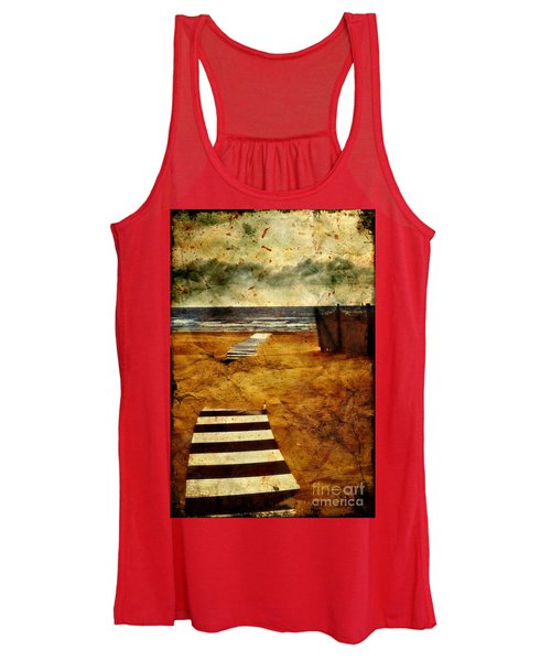 Pathway To The Sea II Women's Tank Top