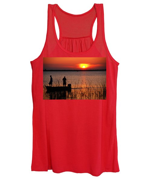 Peace Over The Water Women's Tank Top