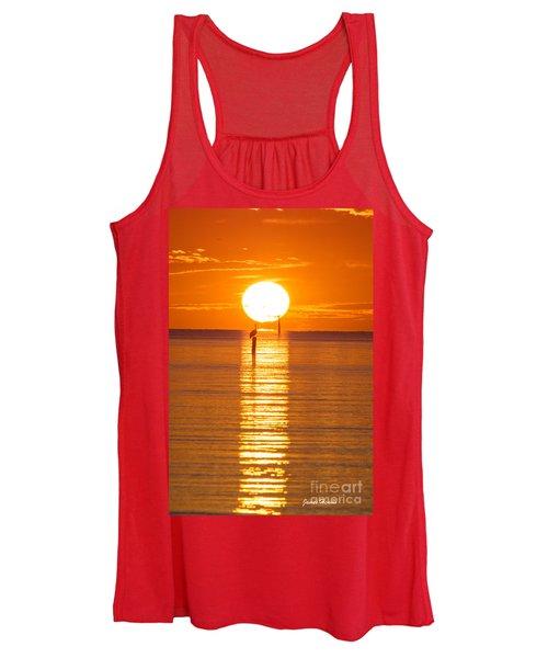 Pelican Sunset Women's Tank Top