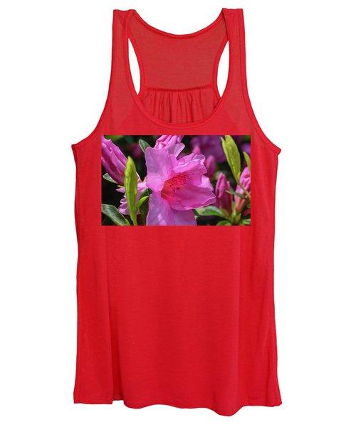 Pink Azalea Women's Tank Top